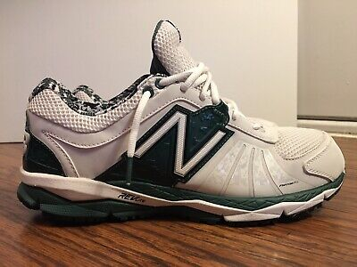 finest selection aca82 58b31 New Balance T1000 Low Turf Training Shoes, T1000OA2, White   Green, Size 12