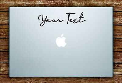 Custom Name Laptop Sticker Mobile Tablet Decal Very Durable