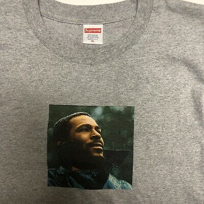 Supreme Marvin Gaye Tee Shirt Size XL never Worn Or Washed NEW streetwear Hype