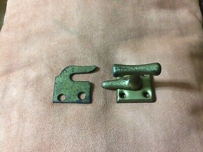 Brass Plated Iron Arts/crafts Casement Latch Lock With Catch