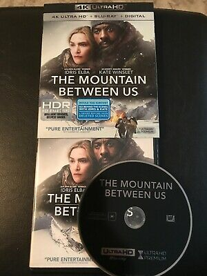 The Mountain Between Us. 4K Ultra Hd Disc, Slipcover And Artwork. MINT