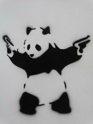 Banksy - Original Dismal Canvas Work Of Art On Vinyl, 2015 Weston - Super - Mare