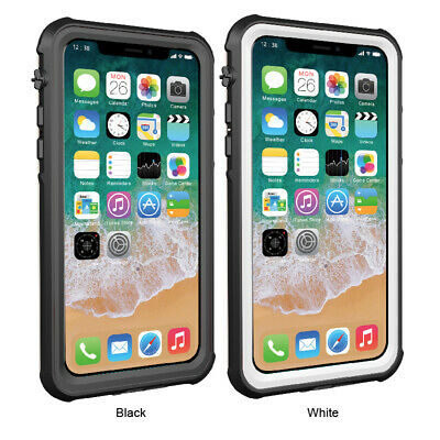 for iPhone 7 8 8S XS XR Case Shock Proof Crystal Clear Silicone Gel Bumper Cover
