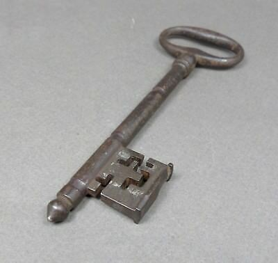 French, Antique Large Iron Key. 18 th, Castle, Church, Manoir.