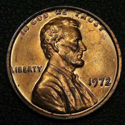 1972 Doubled Die Obverse DDO FS-101 Die#1 Lincoln Memorial Cent Copper Penny