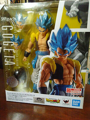 BANDAI S.H.Figuarts Dragon Ball Super Broly Super Saiyan God Gogeta Blue NEW USA