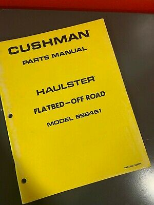 CUSHMAN HAULSTER AND TURF TRUCKSTER SERVICE MANUAL (Part ... on
