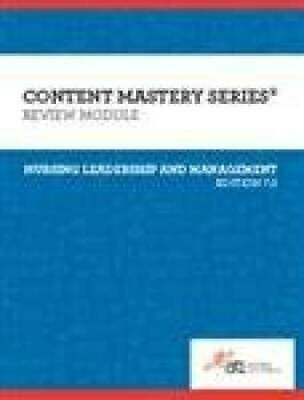 Leadership and Management Review Module - Edition 7.0 - 2016 - Paperback - GOOD