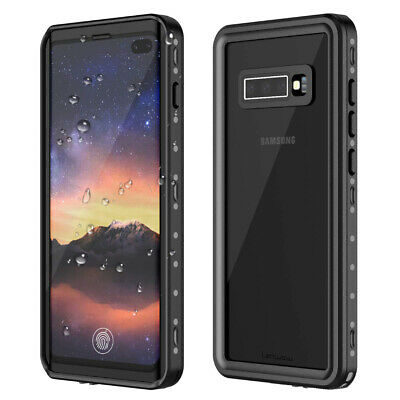 For Samsung Galaxy S10/S10+ Waterproof Shockproof Full Body Protective Case