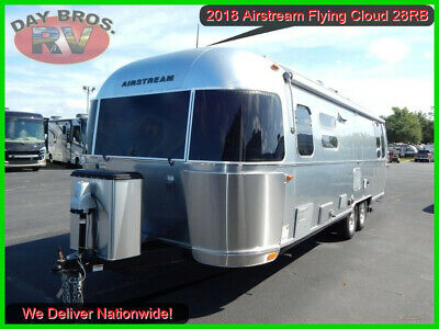 2018 Airstream Flying Cloud 28RB Travel Trailer Towable Camper RV