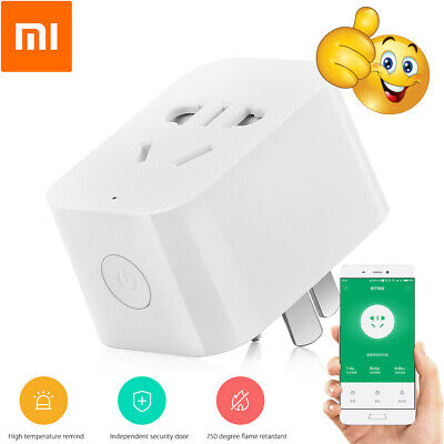 Xiaomi Mi Smart WiFi Socket Switch APP Remote Control Timer Power Detection Plug