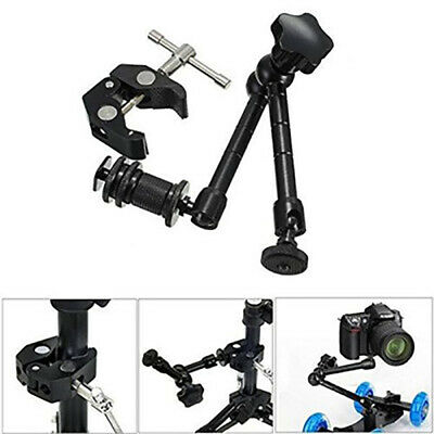 """Wholesale 11"""" Inch Friction Articulating Magic Arm + Super Clamp for DSLR Camera"""