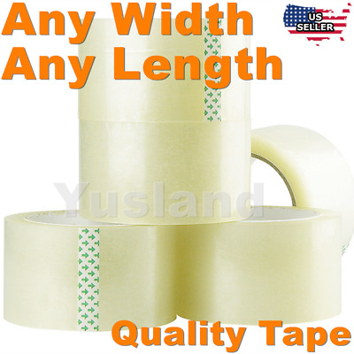 Carton Sealing Clear Tape Box 110 Yds 36 Roll Crafts Adhesive Office Transparent