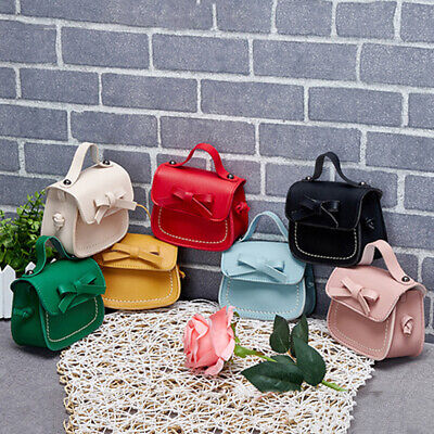 0c879ea782d9 Children Kids Girls Big Bow Handbag Shoulder Messenger Bag Crossbody Bag