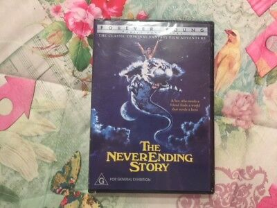 Family Fantasy Favourite 'The Never Ending Story' Movie on DVD R4 Brand NEW