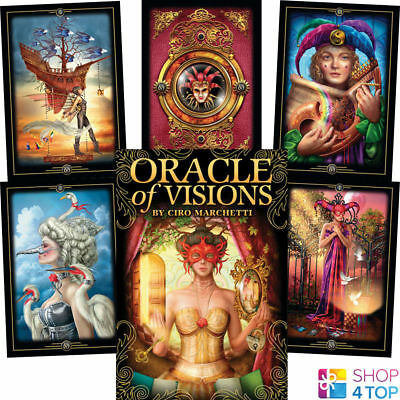 Oracle Of Visions Cards Deck Ciro Marchetti Esoteric Astrology Us Games Systems