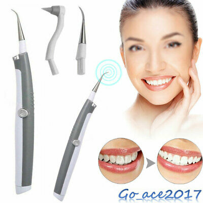 Teeth Whitening Cleaner Remove Stains Ultrasonic Dental Tooth With LED Liberal