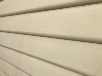 Primed Baltic Weatherboards Bull Nose 175mm Loose $2.20 meter Round Cladding