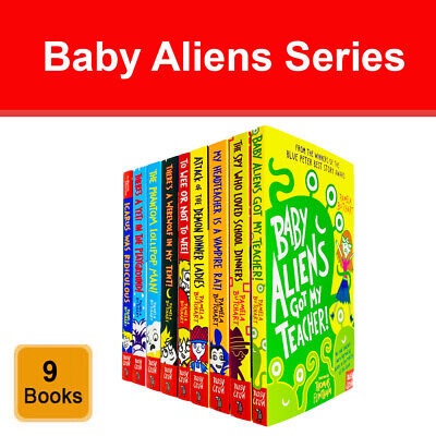 Pamela Butchart Baby Aliens Series 9 Books Collection Set Young Adults PB NEW