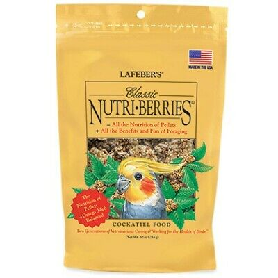 Lafeber Cockatiel Nutriberries Original 284G - Complete Diet And Ultimate Treat