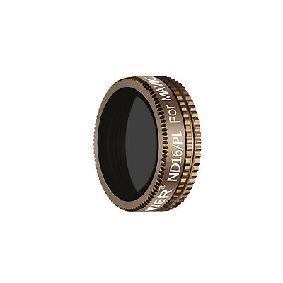 Neewer Optical Glass ND16/PL Filter for DJI Mavic Air Drone Quadcopter (Gold)