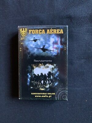 Original Poker Playing Cards Força Aerea Portuguesa Recrutamento Aviation Rare