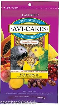 Lafeber Fruit Delight Avi Cakes Gourmet Parrot Food 227G