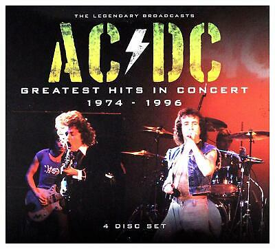Ac/Dc - Greatest Hits In Concert 1974 - 1996: 4 Cd Set