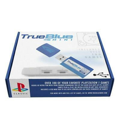 True Blue Mini Crackhead Pack for PlayStation Classic PS 1 ( 64G) Hot