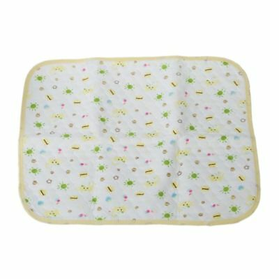 Multicolor Baby Infants Durable Washable Waterproof Urine Mat Cover Changin J4P5