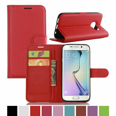 Magnetic Leather Card Wallet Flip Stand Case For Samsung Galaxy NOTE 8 S8 S7 S6