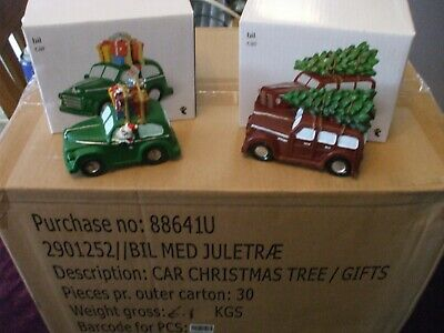 Wholesale job lot of 30 Christmas Decoration Car With Christmas Tree or parcels