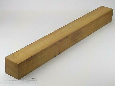 Huge Iroko wood turning or carving spindle blank.  100 x 100 x 1015mm.  3145A