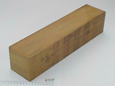 Huge Iroko wood turning or carving spindle blank.  100 x 100 x 440mm.  3147