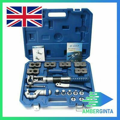 DSZH WK-400 Hydraulic Pipe Expander Set Brake Pipe Fuel Line Flaring Tool Kit UK
