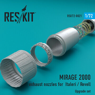 MIRAGE 2000 exhaust nozzles for Italeri / Revell 1/72 ResKit RSU72-0021