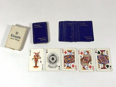 Vintage Old Grants Scotch Whisky Playing Cards