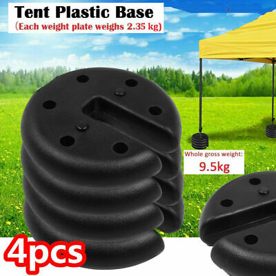 LEG WEIGHTS GAZEBO WATER SAND BAG MOUNT TENT ANCHOR OUTDOOR CANOPY STAND NEW