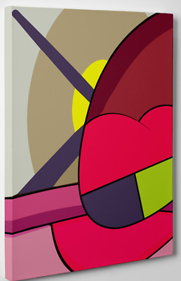 Kaws ups & downs digital art print canvas (6) 11x14 holiday chum kawsbob kimpson