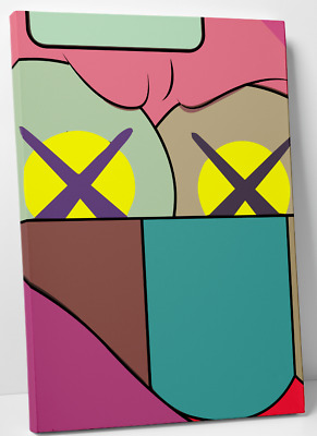Kaws ups & downs digital art print canvas (1) 11x14 holiday chum kawsbob kimpson