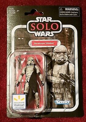 Star Wars Vintage Collection Mimban Stormtrooper Walmart Exclusive VC123 Solo