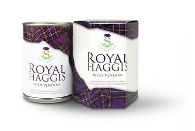 Stahly Quality Foods Royal Haggis with Venison 232g - Made in Scotland