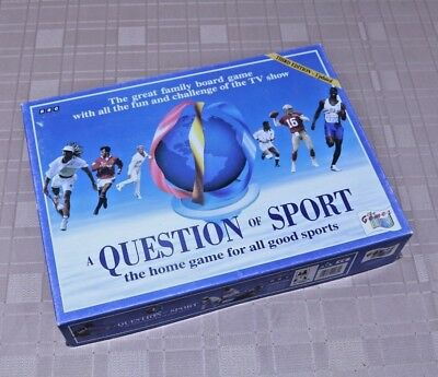 A Question of Sport Board Game Third Edition Updated Vintage 1994