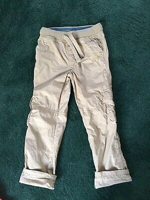 Mark And Spencer Boys Combat Trousers Age 6-7 Worn Once