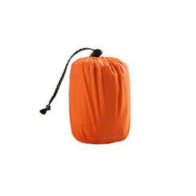 Sleeping Film 1PC Outdoor Emergency Camping Bag Thermal Portable Reusable Orange