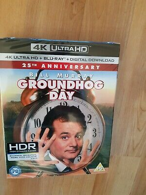 Groundhog Day (4K Ultra HD + Blu-ray + Digital Download) + slip cover new sealed