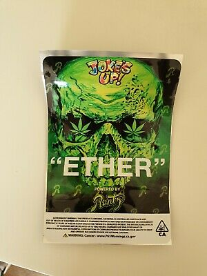 10x Runtz Ether Mylar Bag (3.5g) Cali Tin