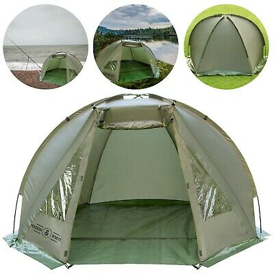 Waterproof Fishing Bivvy Tent / Lightweight / Shelter 1-2 Man Easy Assemble #Z3