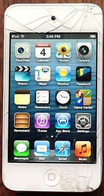 Apple iPod Touch 4th Generation White (32 GB) For Parts Or Repair