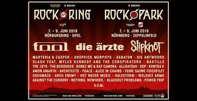 2 ROCK AM RING 2019 Weekend Festival Tickets +2 General Camping & Parking Ticket